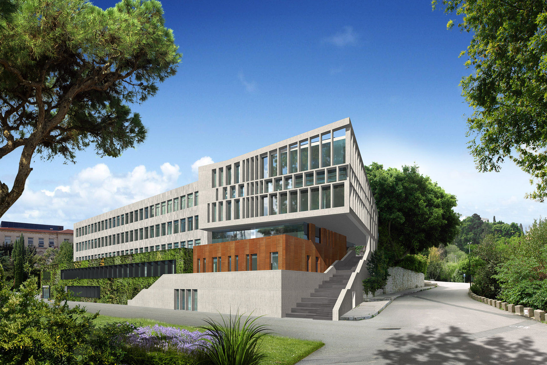 Geha Engineering- American University of Beirut - AUB - Munib and Angela Masri Building