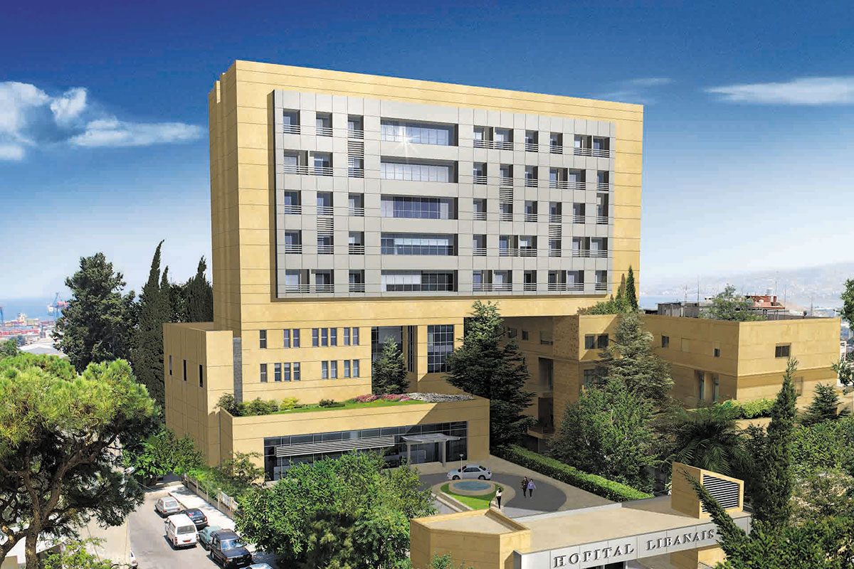 Geha Engineering- Lebanese Hospital Geitaoui Medical Center